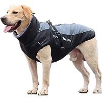 ZIFEIPET - Abrigo de invierno impermeable para perros medianos