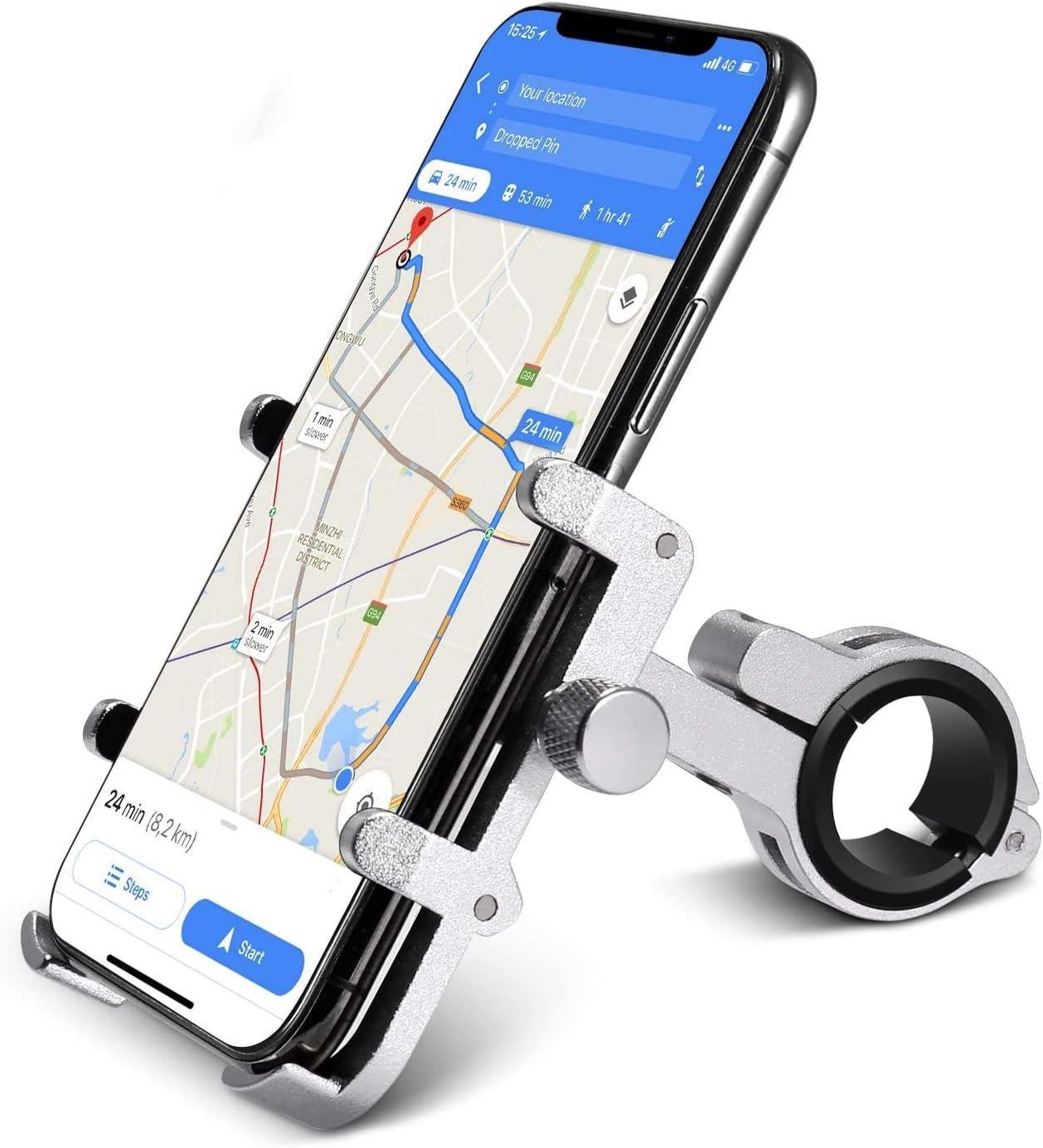 Handy Smatphone Halterung Universal Fahrrad E-Bike E-Roller CBK-MS®  Handyhalter