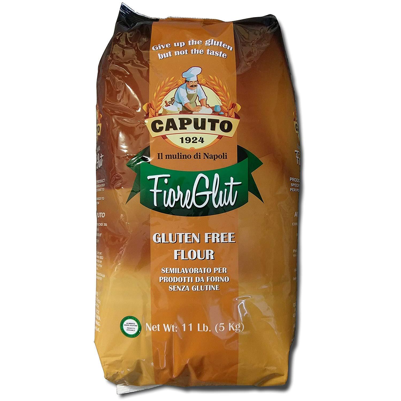 Antimo Caputo Gluten Free Pizza Flour 11 Lb Bulk - All Natural Multi Purpose Flour & Starch Blend for Baking Pizza, Bread, & Pasta by Antico Molino Napoli (Image #1)