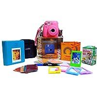 Fujifilm Instax Mini 9 Festive Pack Instant Camera (Flamingo Pink)