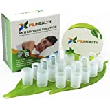 P & J Health - Anti Snoring Solution, Snore Stopper, advanced Nose Vents To Ease Breathing and Snoring(set of 8)