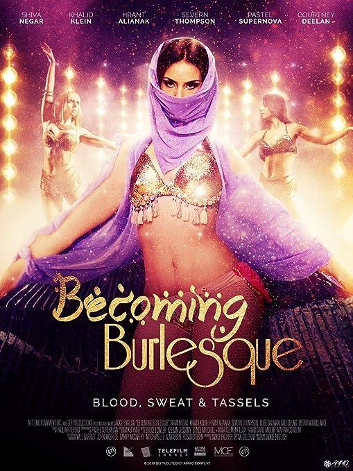 printdesign Becoming Burlesque - Movie Poster Wall Decor ...