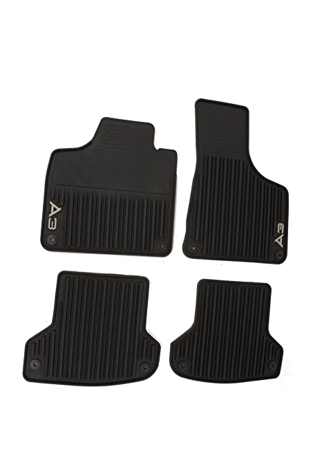 Amazon Com Genuine Audi Accessories 8p1061450041 Black Rubber Front