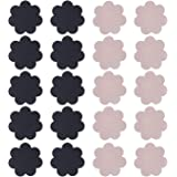 HDE 10 Pairs Womens Disposable Pasties Thin Adhesive Breast Nipple Covers