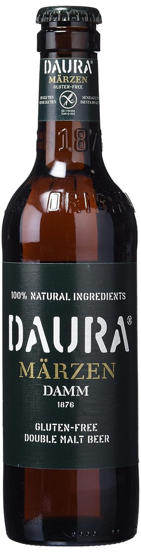 Daura Marzen Damm Cerveza Sin Gluten - Pack de 6 Botellas x 330 ml -Total: 1.98 L