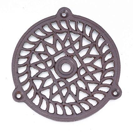 Antikas - chimenea rejilla de aire caliente - cercas de aire caliente redonda ventilación chimeneas (