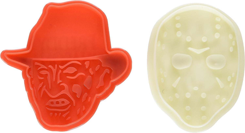 Freddy vs. Jason 2-Pack Cookie Cutter Set: Amazon.es: Hogar