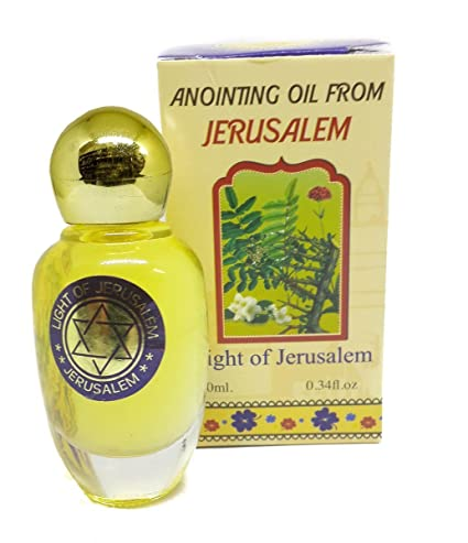 Amazon com: Light Of Jerusalem Anointing Oil Holy Scent Blessing Oil