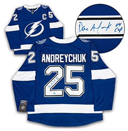 16bf948f Dave Andreychuk Tampa Bay Lightning Autographed Signature Fanatics ...