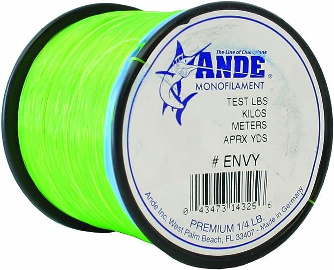 Ande Premium 8# Test Pink Fishing Line Bulk Spool