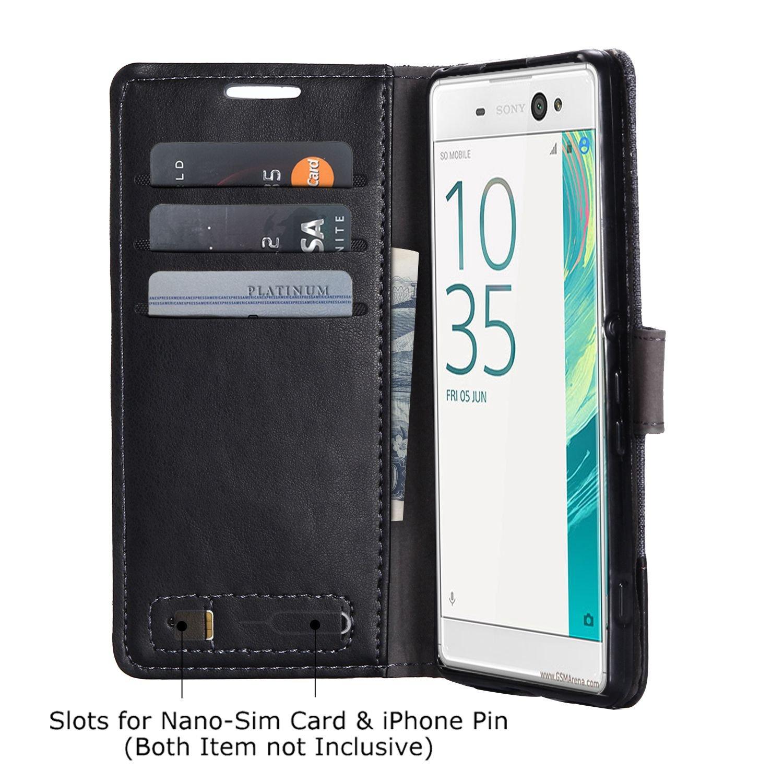 pinlu® Funda para Sony Xperia XA Ultra Case de Piel PU 2 ...