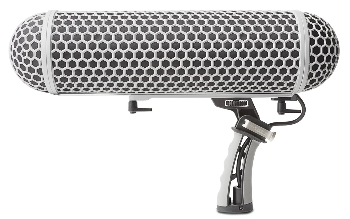 Marantz Professional ZP-1 | Blimp-Style Microphone Windscreen & Shock mount with Synthetic Fur Slip-On Cover