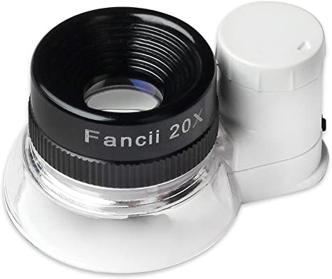 New 3 Piece EYE LOUPE SET Watchmakers Jewellers Lens Loop Magnifying Eyeglass ✔