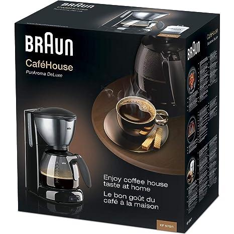 Braun KF570/1 Filtercafetera eléctrica: Amazon.es: Electrónica