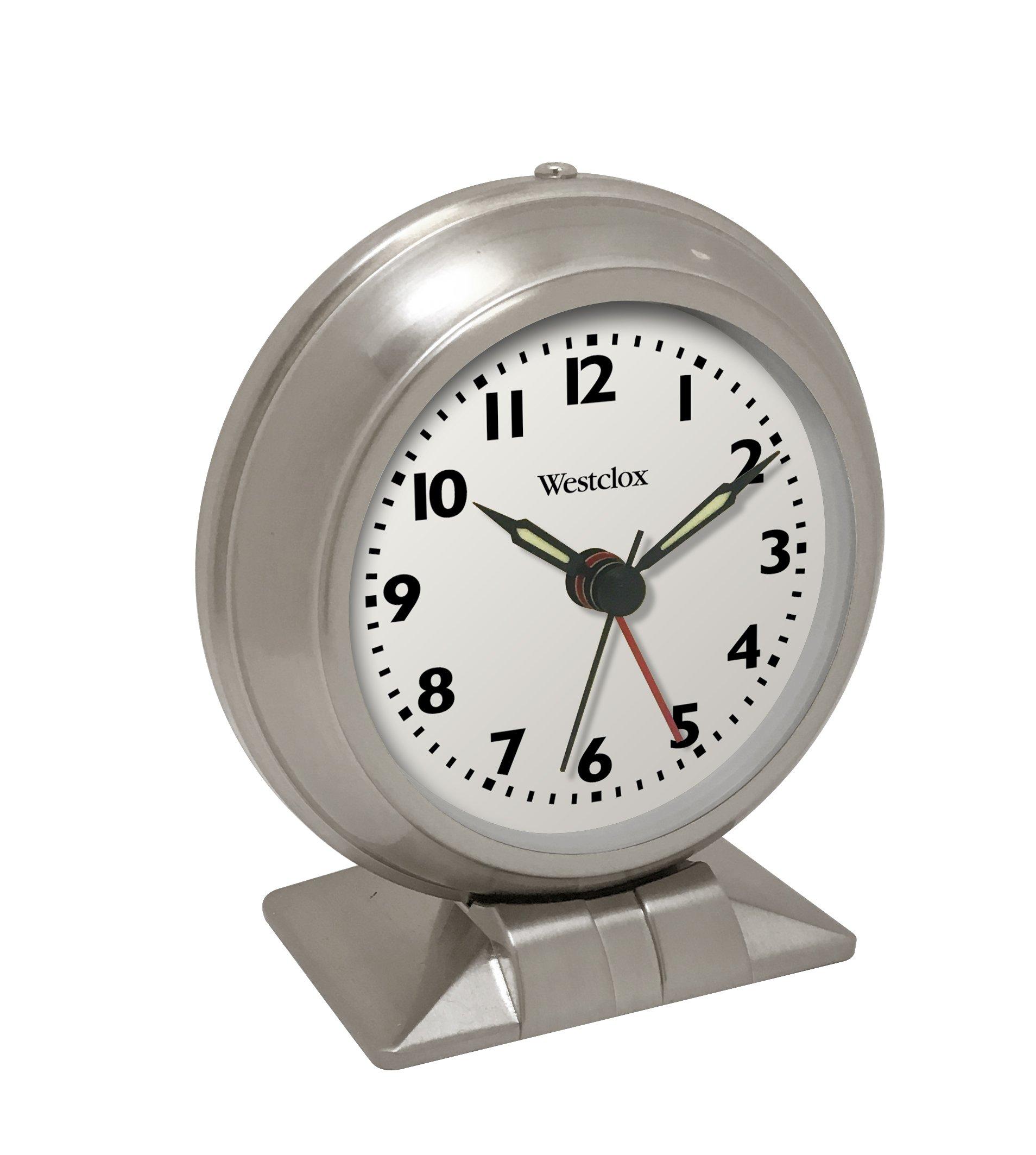 Westclox Big Ben Classic Alarm Clock Quartz Movement Metal Bezel