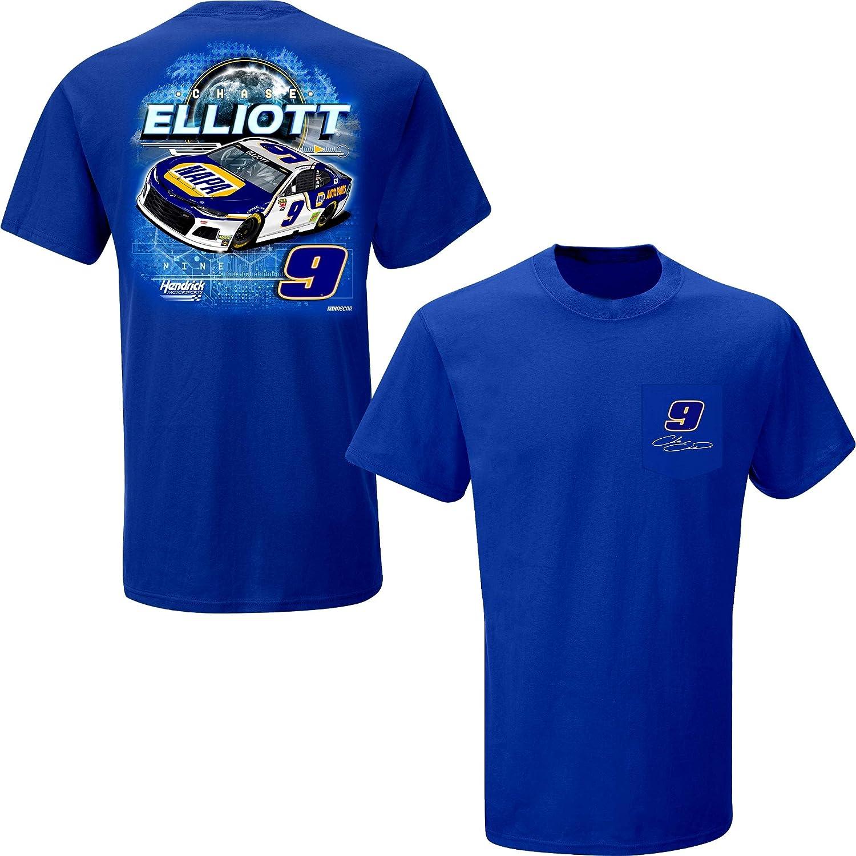 Chase Elliott T Shirt >> Amazon Com Smi Properties Chase Elliott 2019 Napa Pocket Nascar T
