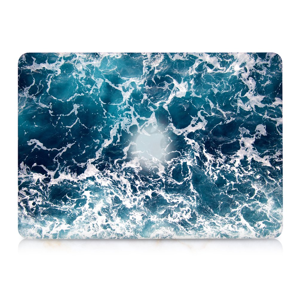 Green Marble Release 2010-2017 Older Version iCasso Hard Shell Plastic Protective Case /& Keyboard Cover Only Compatible MacBook Air 13 Inch Model A1369//A1466 MacBook Air 13 inch Case
