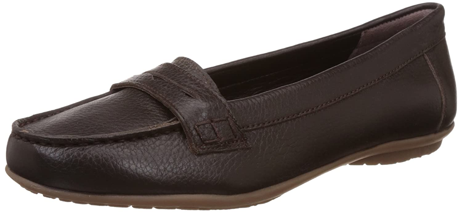 a7eae80b8ec Hush Puppies Women s Ceil Penny Brown Leather Loafers and Mocassins - 8  UK India (41 EU)(5544942)  Buy Online at Low Prices in India - Amazon.in