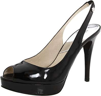 39921f0b37 Amazon.com | Michael Michael Kors Women's York Slingback Pump, Black ...