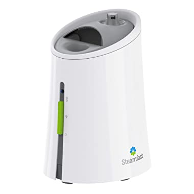 Steamfast SF-920 Warm Mist Humidifier and Steam Vaporizer with Auto Shut-Off, Filter-Free Design, Aromatherapy Essential Oil Ready, 1 Gallon Capacity