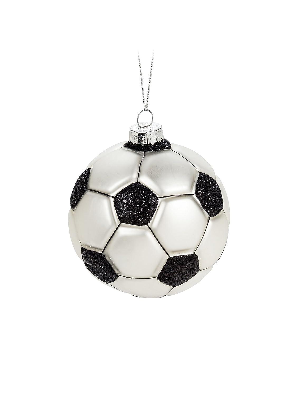 Abbott Collection Blk/Wht - Figura Decorativa de Pelota de fútbol ...
