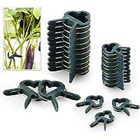 FORMIZON 80 Pcs Clip de Jardín, Clip de Jardinería de Plástico para Plantas de Jardín, Reutilizable Jardín Planta, Patio…