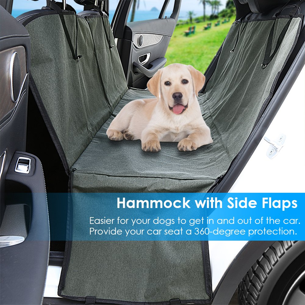 Amazon.com : Pet Seat Cover Car Seat Covers for Dogs with Side Flaps ...
