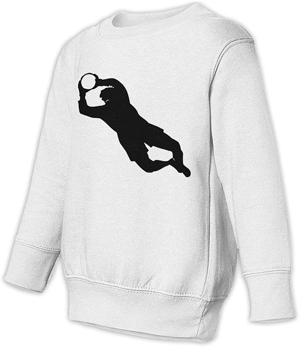 wudici Soccer Goalkeeper1 Boys Girls Pullover Sweaters Crewneck Sweatshirts Clothes for 2-6 Years Old Children