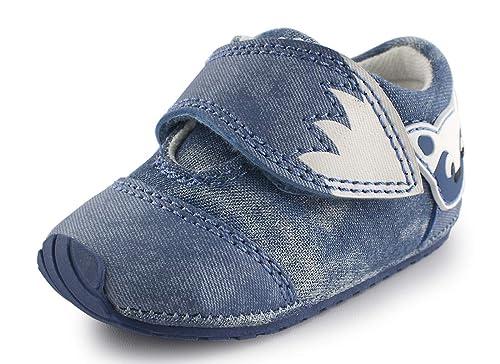 2e0bf3617 Cartoonimals Zapatos para bebé Niños Niñas Infantil Primeros Pasos  Zapatillas Foxz Denim 20  Amazon.es  Zapatos y complementos