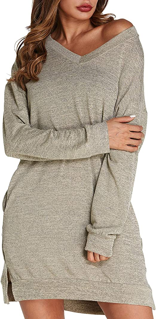 Damen Pullover Pulli Sweater Oversized Frauen weiß Größe 40//42 NEU