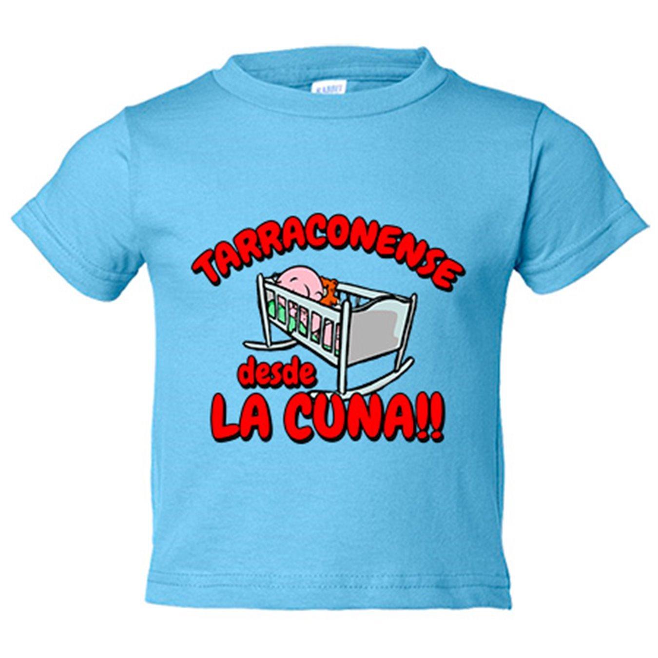 Camiseta niño Tarragonense desde la cuna Tarragoní Tarragona ...