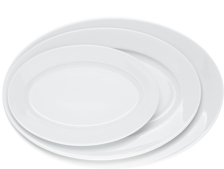 Amazon.com: Platos ovalados para servir, platos para servir ...