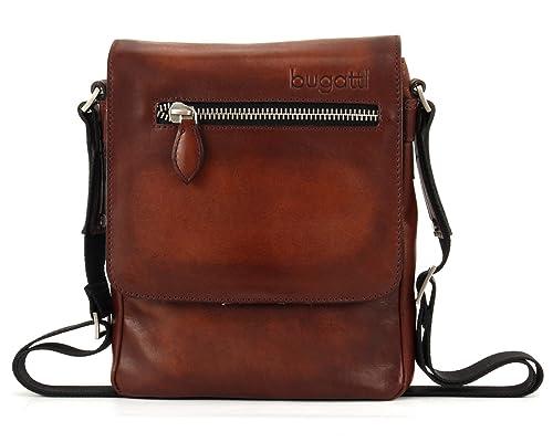 38482b43950 bugatti Domus Shoulder Bag S Cognac  Amazon.co.uk  Shoes   Bags