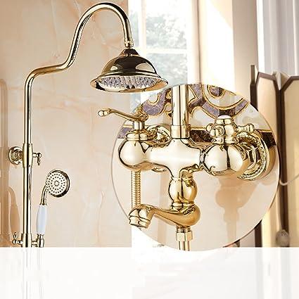 Ali Set doccia Completo bagno in rame con rubinetto doccia caldo e ...