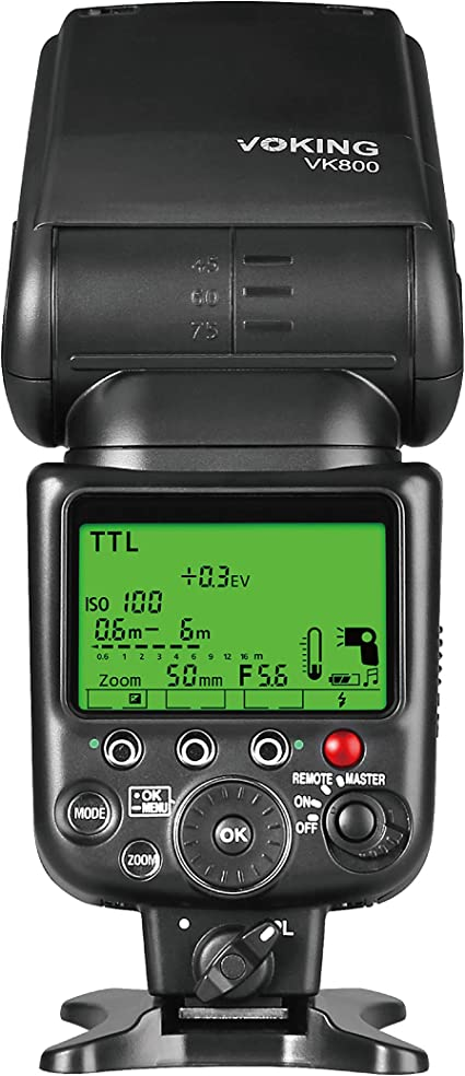 Voking VK800 I TTL Flash Esclavo de Cámara externo Speelite para ...