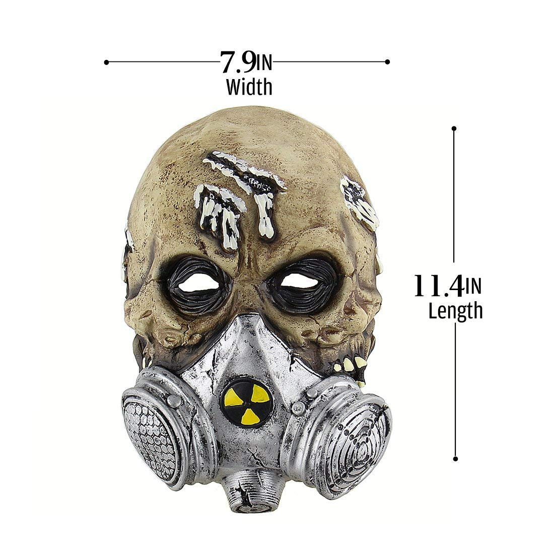 Halloween Masks for Adults - Terror Scary Gas Mask - Party Scary - Nuclear Atomic Biochemical - Alien Masks