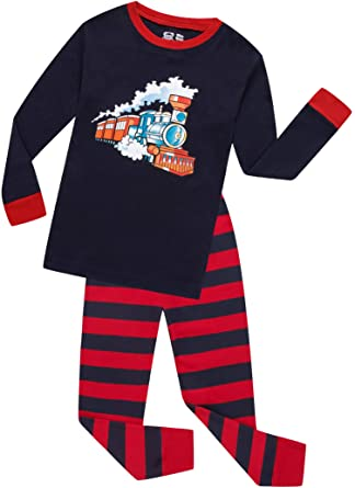 f9eeafcb1 Amazon.com  Halloween Pajamas Boys Glow in The Dark Children ...