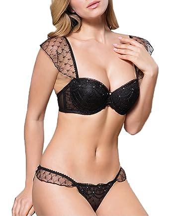 9113c8568a Anil Lingerie Women s Plain Everyday Bra - black -  Amazon.co.uk ...