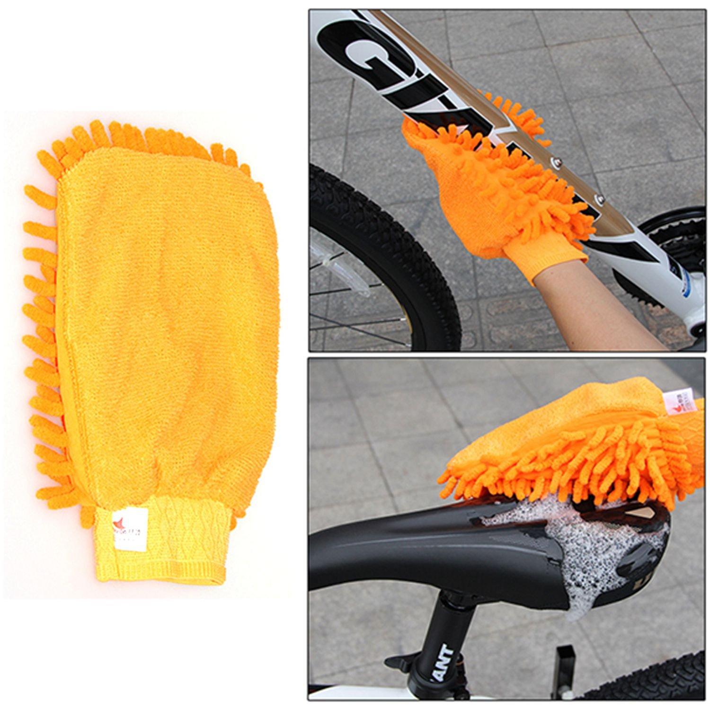 JVSISM 6 pz//Set pulitore della Catena della Bicicletta Pulitori della Gomma della Bicicletta Set di Strumenti di Pulizia della Bici della Strada della Montagna Portatile
