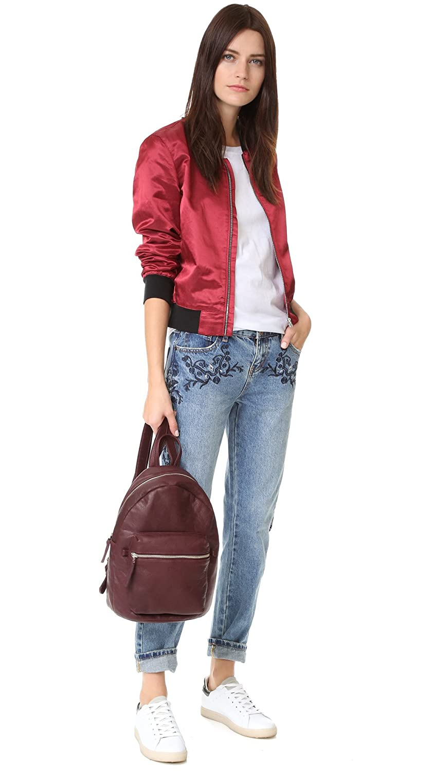 One Teaspoon Women's Blue Muse Lola Awesome Baggie Jeans