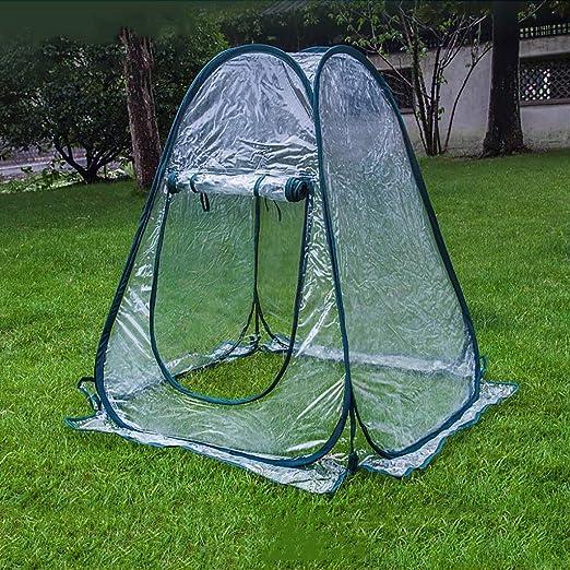 TWS Aislamiento al Aire Libre del jardín del Invernadero Que Cubre la Lluvia los 70 * 70 * 80cm: Amazon.es: Hogar
