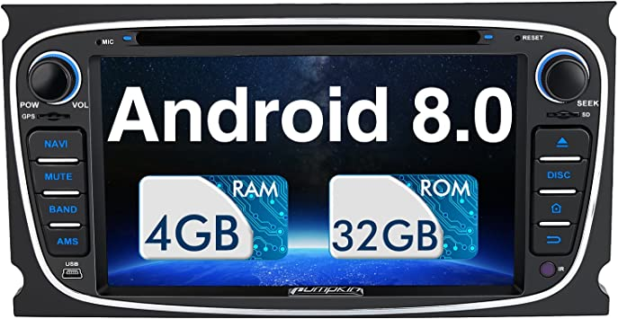 Pumpkin Android 8 0 Autoradio Für Ford Focus Mondeo Elektronik