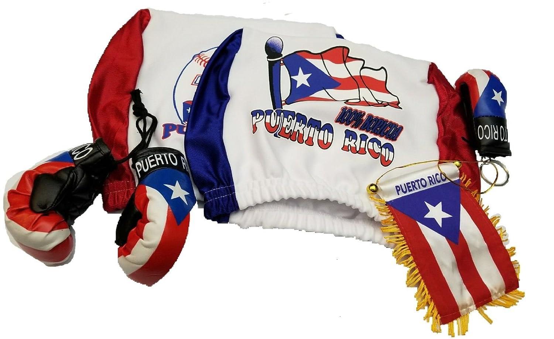 Amazon.com: 5pcs Puerto Rico reposacabezas Cover – Guante de ...