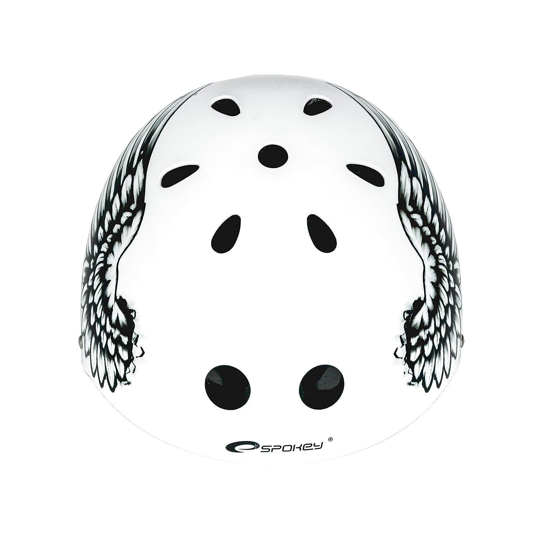 Radsport Spokey Kinder-Fahrradhelm Helm BMX und Skaterhelm Freestyle Joker 54-56