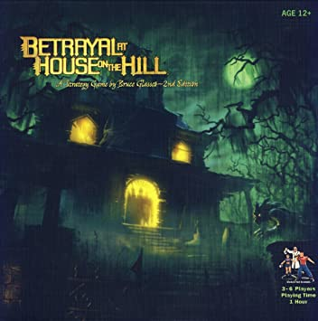 Amazon Com Betrayal At House On The Hill Toys Games