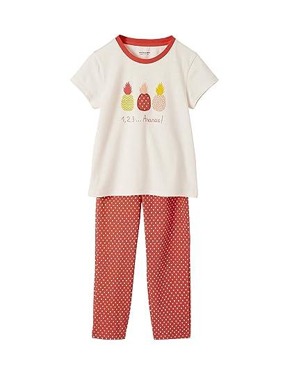 50de5c4d5c48a Vertbaudet Pyjama Fille Ananas Eau DE Rose 14 A  Amazon.fr ...