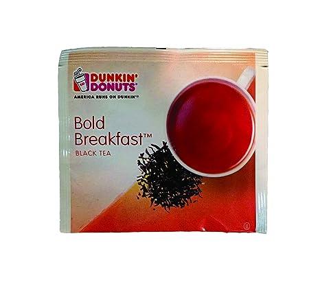 Amazoncom Dunkin Donuts Bold Breakfast Black Tea 45 Tea Bags
