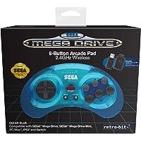 Retro-Bit Sega Md 8-B 2.4G Wl Blue(Nintendo Switch)