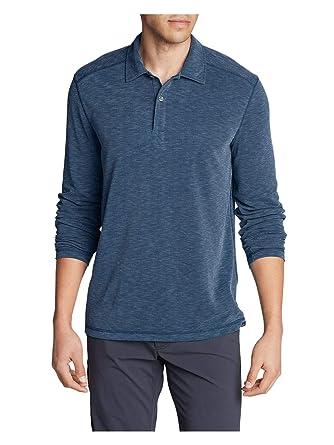 6b3c23c3c Eddie Bauer Men s Contour Long-Sleeve Polo Shirt