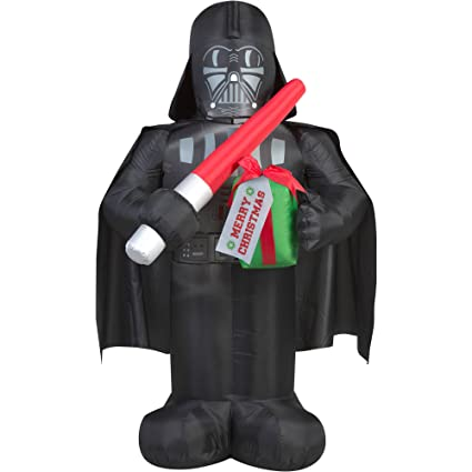 finest selection b0b21 4eb69 Star Wars Darth Vader Airblown Inflatable 5 ft tall LED Light-up